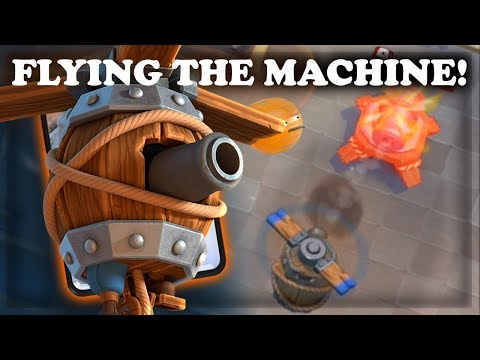 How to Use and Counter Flying Machine  Clash Royale