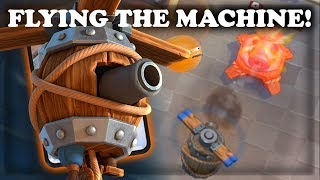 How to Use and Counter Flying Machine | Clash Royale