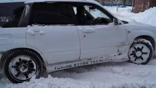 Cнежная зима 2017 Subaru Forester
