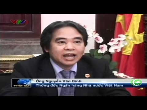 Ông Nguyễn Văn Bình trả lời phỏng vấn đài truyền hình Việt Nam