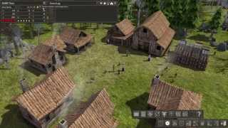 ASMR Let's Play Banished (1 hour, nature sound effects, relaxing music)