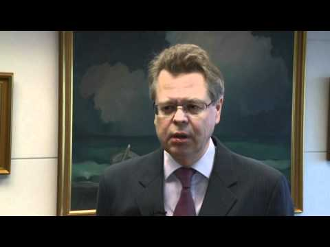 Mar Gudmundsson, Governor of the Central Bank in Iceland speaks about the Icelandic economy