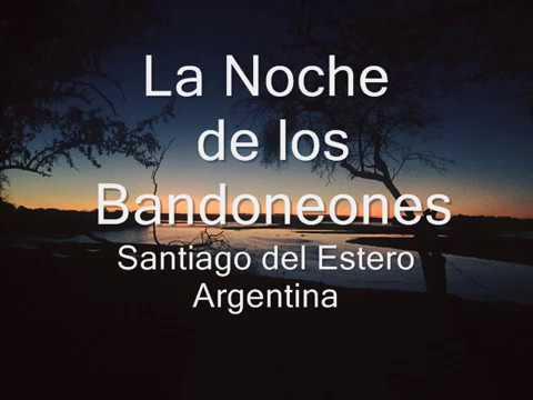 La Noche de los Bandoneones en LV11 Radio Nacional 1993 Santiago del Estero