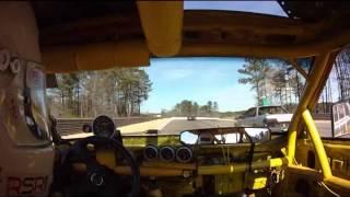 Landshark and Burningham Porsche 944 24 Hours of Lemons Barber Feb 2014