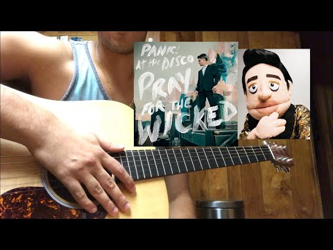Hey Look Ma, I Made It Panic! At The Disco Guitar Tutorial (acoustic) 🎸