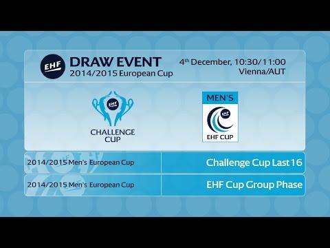 EHF DRAW EVENT - 2014/2015 Men's European Cup