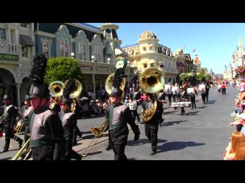 Lakewood Ranch High School Marching Mustangs - Magic Kingdom 3/17/2017