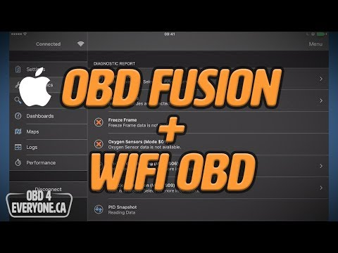 OBD Fusion For IOS & WIFI OBD: Set Up & Connecting: OBD4Everyone Ep. 6