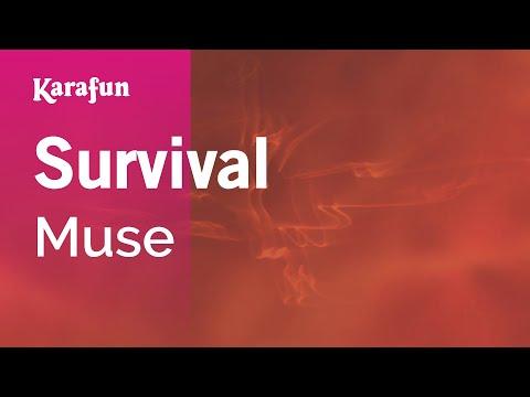 Survival - Muse | Karaoke Version | KaraFun