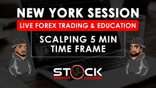 Live Forex Trading - New York Session - Scalping 5 Minute TF