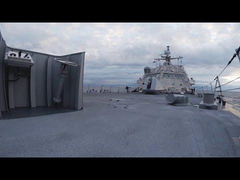 Littoral Combat Ship Builder's Trials