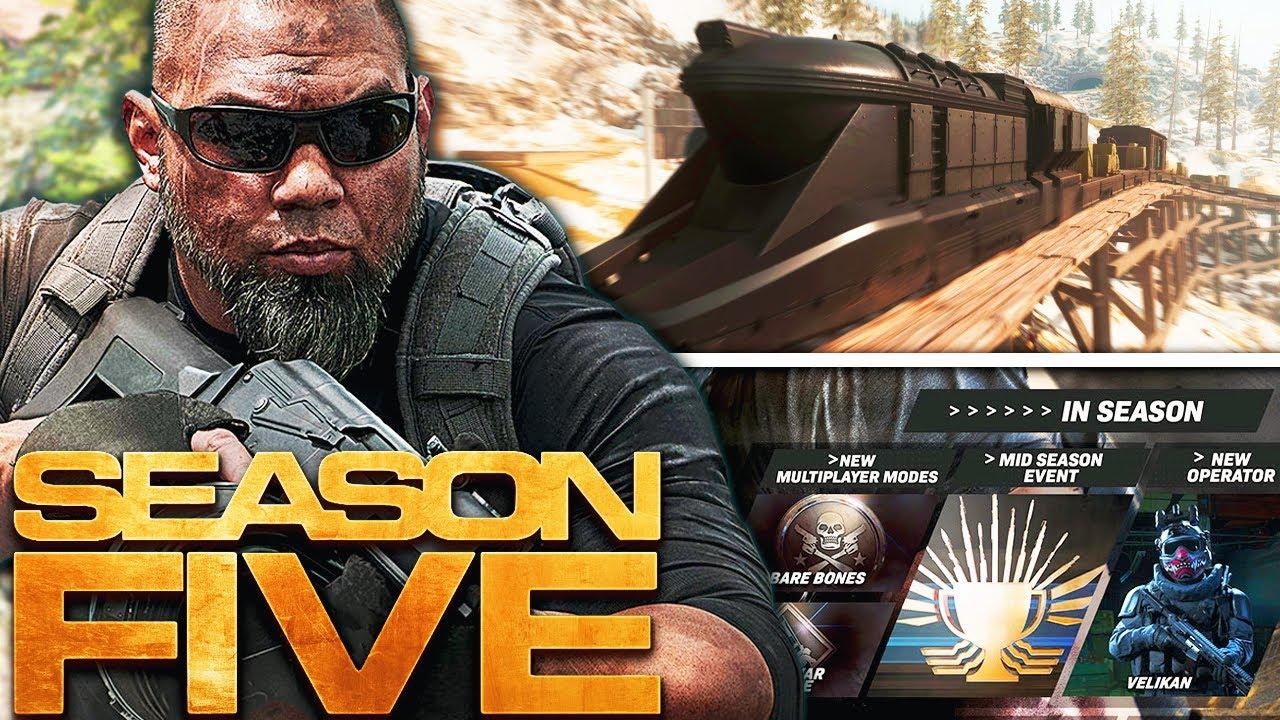 Modern Warfare Season 5 Roadmap Update More Revealed Youtube
