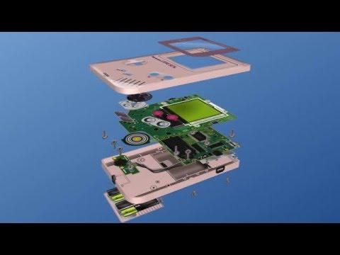 Anatomy of a Game Boy (Teardown) - YouTube