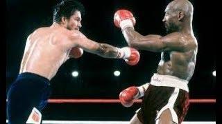 Marvin Hagler vs Roberto Duran (Highlights)