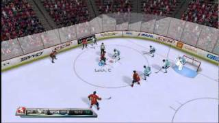 NHL 2K11 Gameplay (Wii) Capitals vs. Penguins