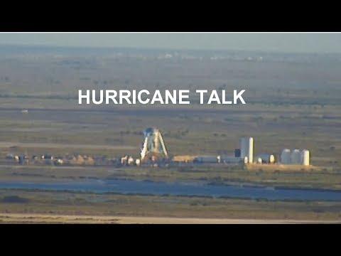 SpaceX Hurricane talk