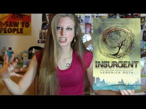 INSURGENT BY VERONICA ROTH: Booktalk With XTINEMAY (ep 33)