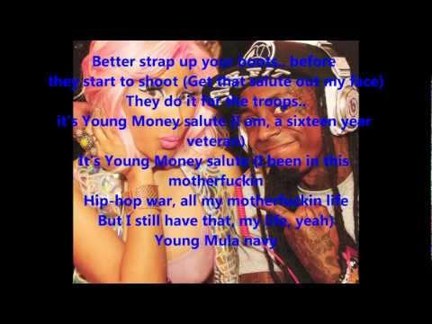 Lil Wayne ft. Nicki Minaj - Young Money Salute (With Lyrics)