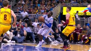 Oladipo Soars Past Lebron's Block Attempt
