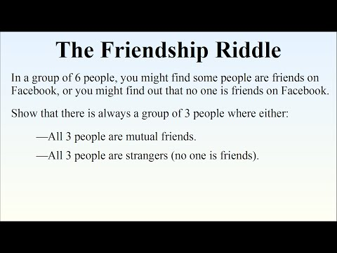 Can You Solve The Friendship Riddle?