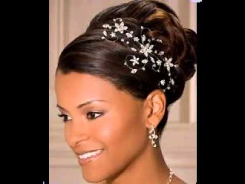Great African American Wedding Updo Hairstyles Ideas Youtube