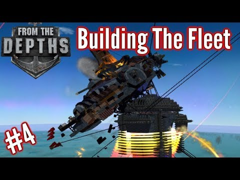 Building The Fleet | #4 | Devour The Skies!! (Harpoon Melee Submarine!!)  | From The Depths