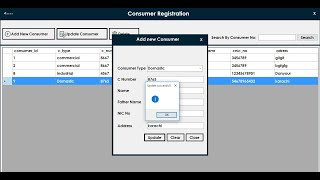 How to update record in win form application csharp [ electric billing management system part 3]
