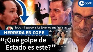 """Herrera: """"Tenemos un Gobierno que promueve el terrorismo callejero"""""""