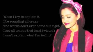 Baby I - Ariana Grande Lyrics on Screen