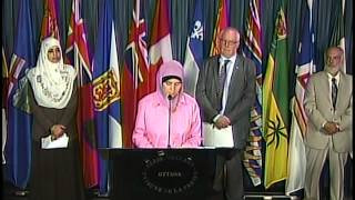 July 15 Parliament Hill Press Conference