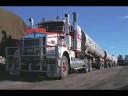 Ciężarówki-pociągi w Australii