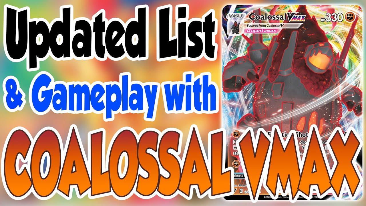 DIGITAL 2x Coalossal Secret rare pokemon tcg online