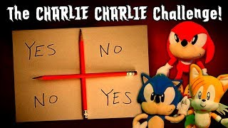 Sonic the Hedgehog - The Charlie Charlie Challenge!