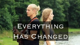 Taylor Swift ft. Ed Sheeran - Everything Has Changed (cover by Cillan Andersson & Arvid Kristensson