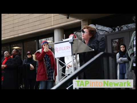 Student Protest at Rutgers University in Newark