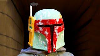 Как сделать маску Боба Фетта из папье-маше своими руками(Как сделать маску Боба Фетта из папье-маше? В этом мастер-классе мы покажем, как поэтапно создать шлем наемн..., 2016-04-30T13:00:01.000Z)