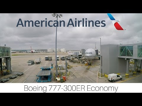 Trip Report | American Airlines | London - Miami | Economy | Boeing 777-300ER