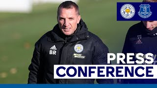 'Put In Your Best Performance' - Brendan Rodgers   Leicester City vs. Everton