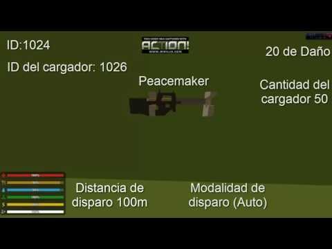 ID Armas de unturned (SMG)