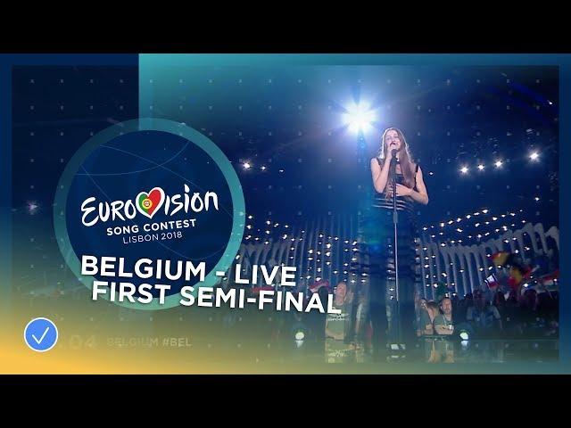 Sennek - A Matter Of Time - Belgium - LIVE - First Semi-Final - Eurovision 2018