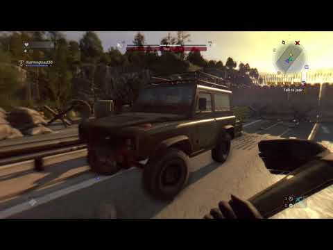 Dying Light: The Following  killing zombie thor