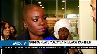 Black Panther's Danai Gurira on International Women's Day
