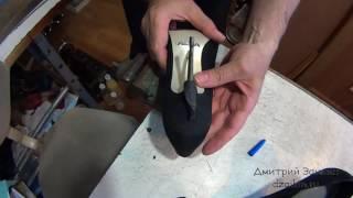 Кривой каблук. Ремонт обуви.(, 2016-07-06T14:31:37.000Z)