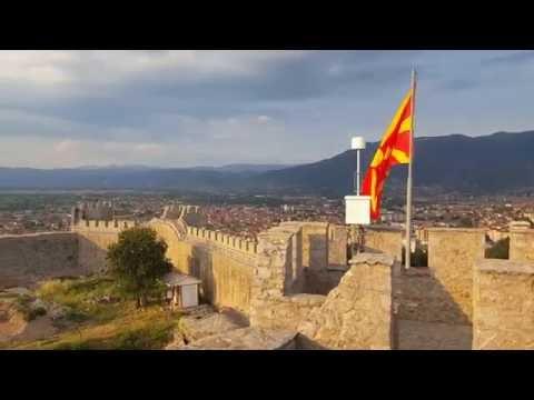 """От """"Самуиловата крепост""""в Охрид  (Samuel`s  Fortess,Ohrid)"""