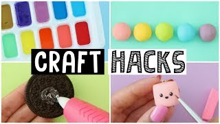 7 AMAZING LIFE HACKS FOR CRAFTING - Testing Viral Life Hacks!