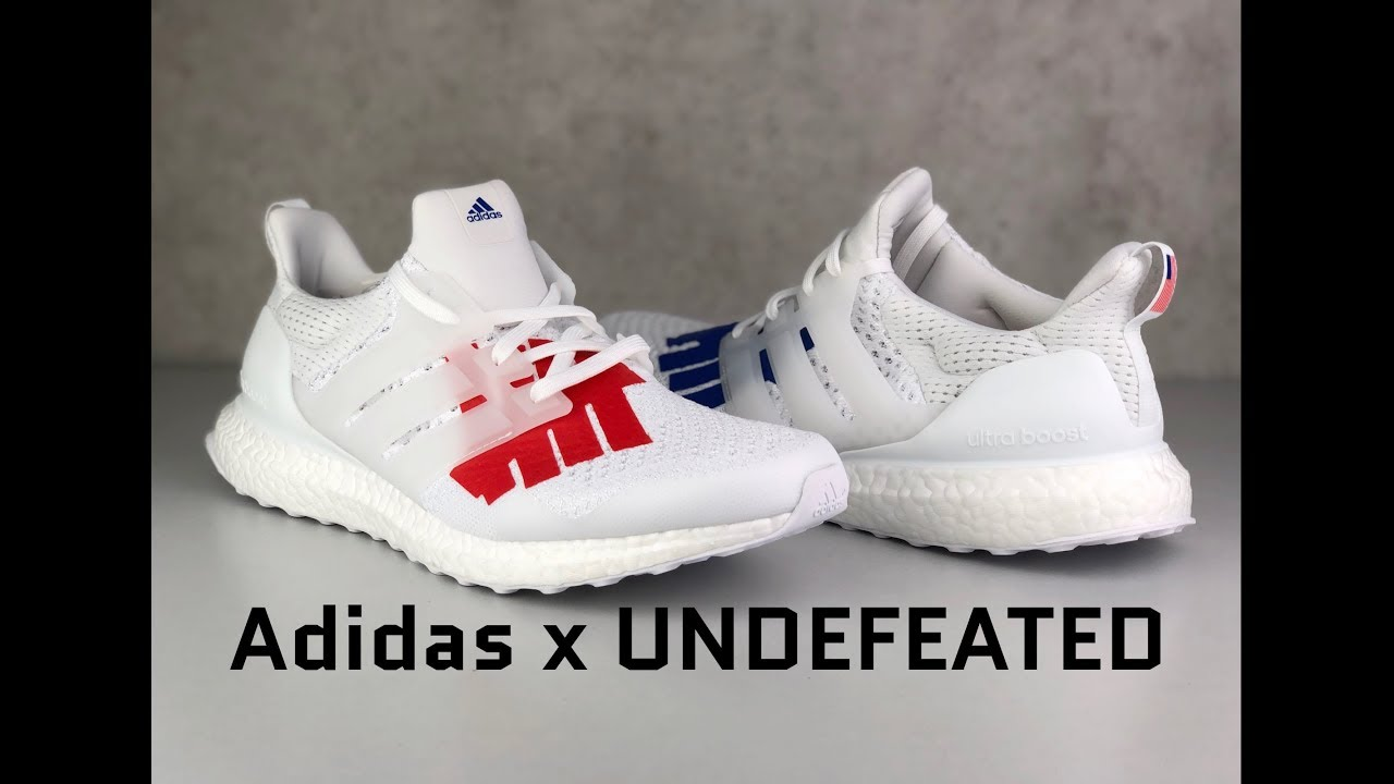 Adidas x UNDEFEATED Ultra Boost 1.0
