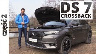 DS 7 Crossback 2.0 BlueHDI 180 KM, 2018 - techniczna część testu