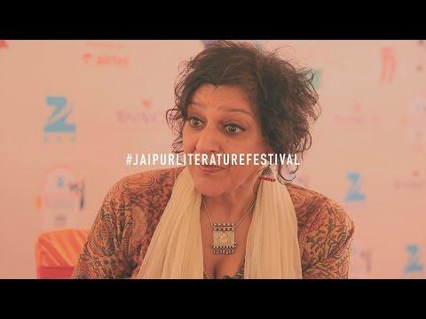 JLF2016 Meera Sayal Comedian and Writer