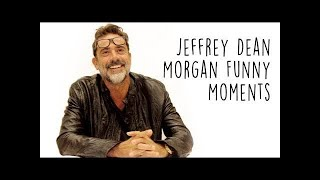 Jeffrey Dean Morgan Funny Moments!🔥😱 #LOWI