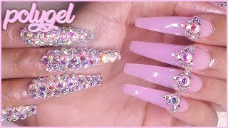 That Perfect Jelly Pink Polygel | Makartt Review & Demo